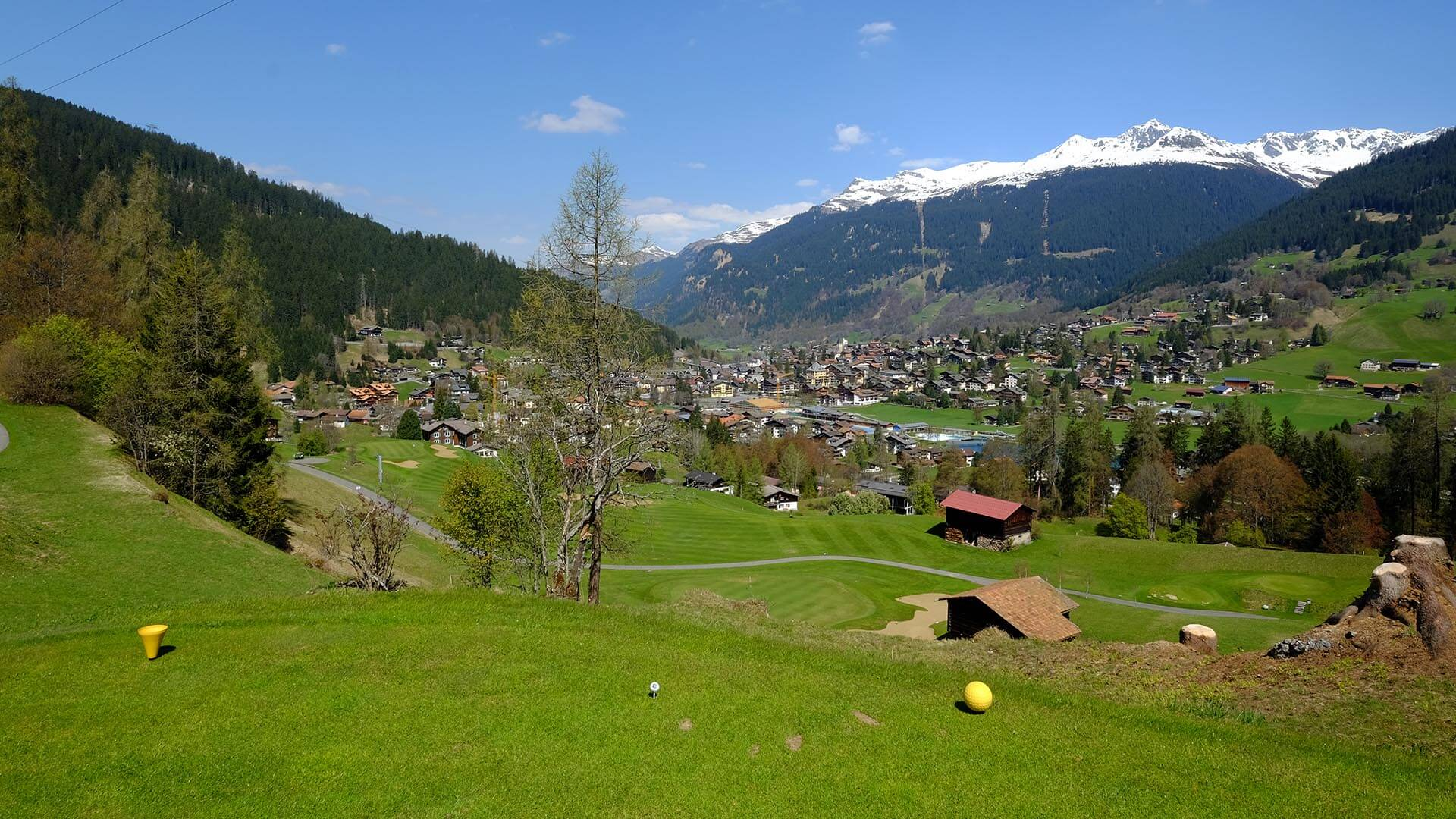 Golf Klosters Panorama