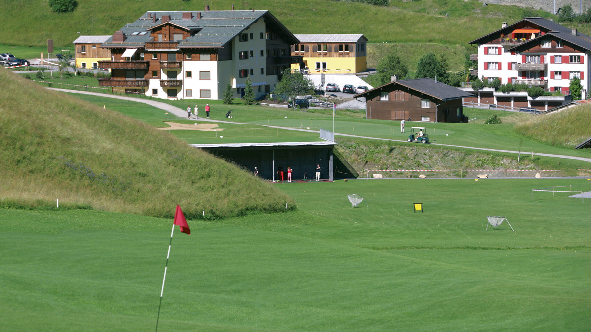 Golf Klosters Driving Range