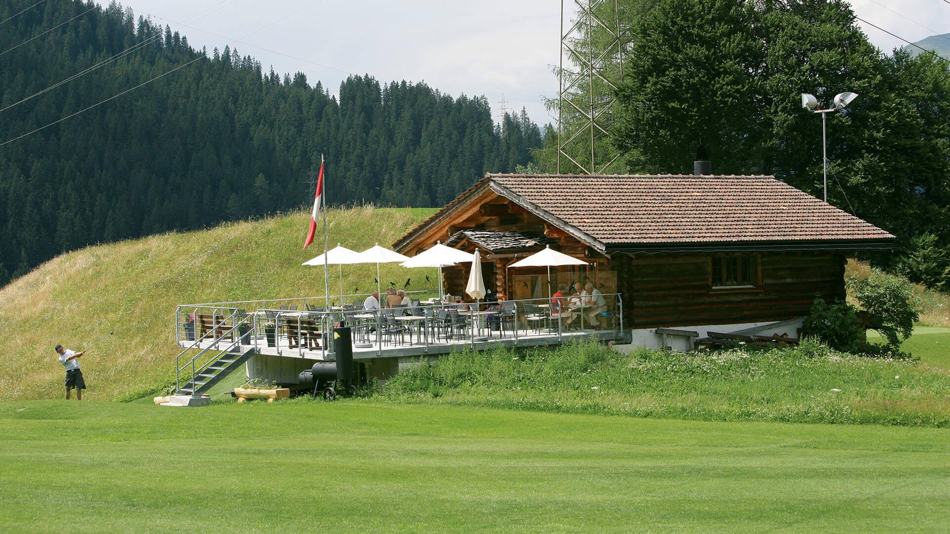 Golf Club Klosters Skihütte Selfranga