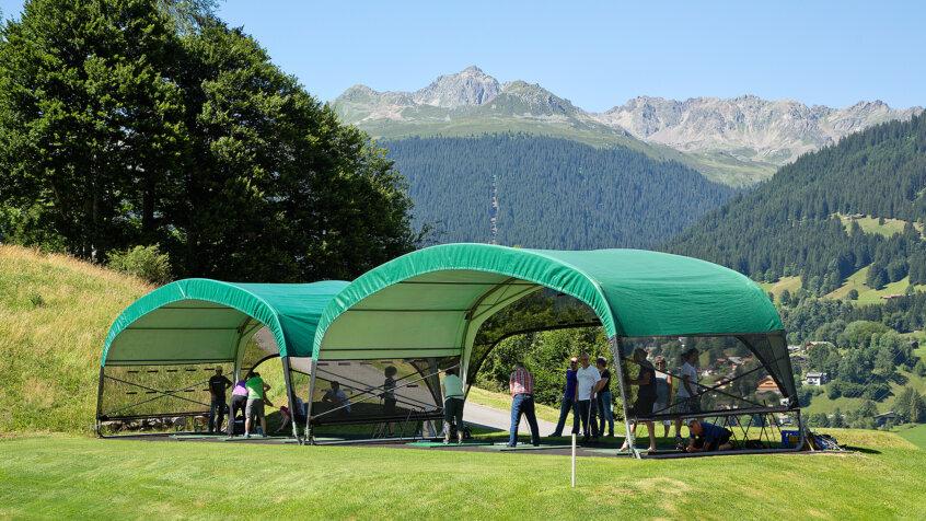 Golf Academy Klosters Feierabend Golf mit Simon