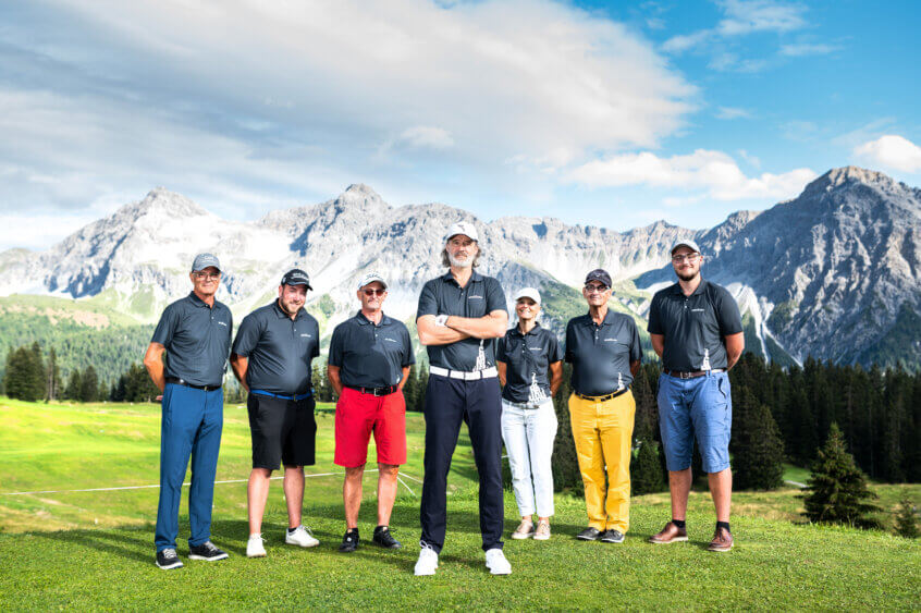 Bündner Caddies Golf Club Klosters